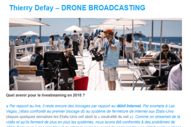 Le live-streaming, le format de demain ?
