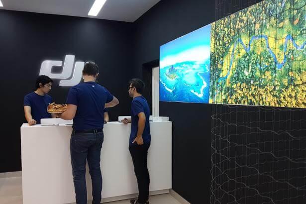 DJI, leader mondial du drone, ouvre son store à Paris avec StudioSport