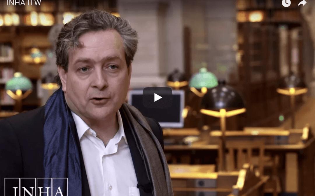 Un tournage drone hors normes pour l'INHA à Paris