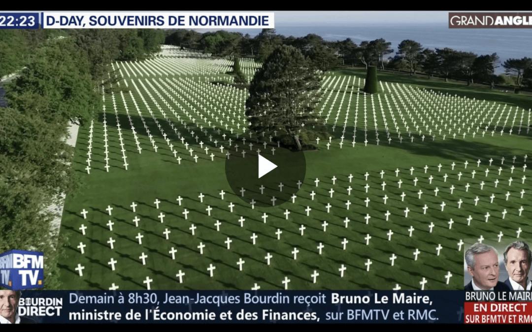 BFMTV fait appel à Drone Broadcasting pour couvrir les commémorations du DDAY75