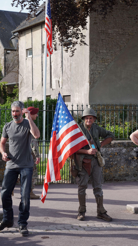 DDAY 75 drapeau
